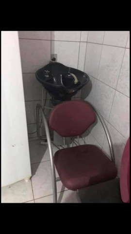 Lavatório pouco usado