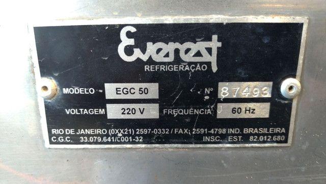 Maquina de gelo Everest egc 50 - Foto 4