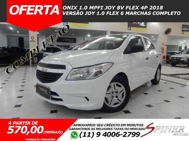 Chevrolet Onix 1.0 Mpfi Joy 8v Flex 4p Completo Impecável