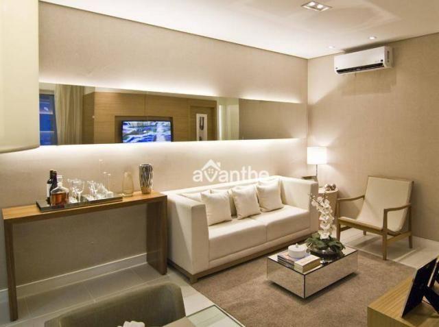 Apartamento com 3 dormitórios à venda, 74 m² por R$ 317.000 - Santa Isabel Zona Leste - Te - Foto 2