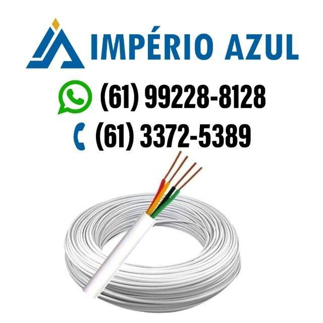Cabo para Alarme e Interfone 4 Vias 0,40mm - O metro