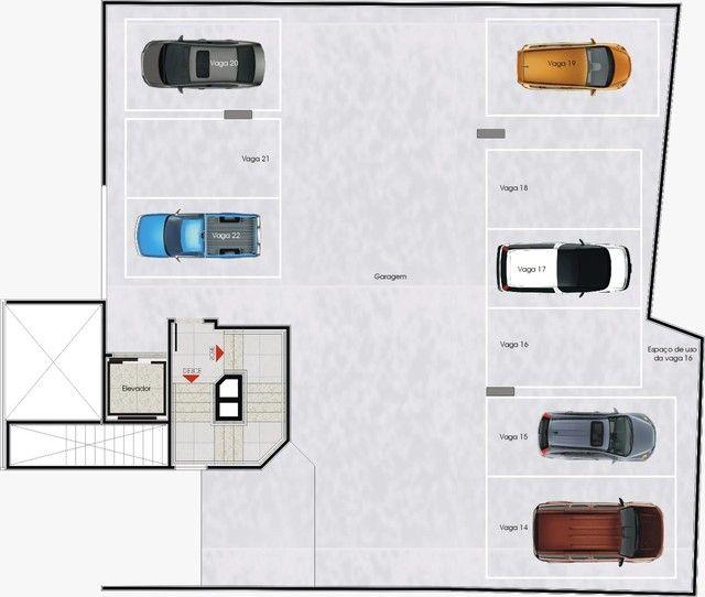 Apartamento à venda com 4 dormitórios em Jaraguá, Belo horizonte cod:4256 - Foto 3