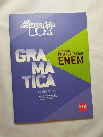 Livro Ser Protagonista Box Gramática - Ensino Médio  - Foto 3