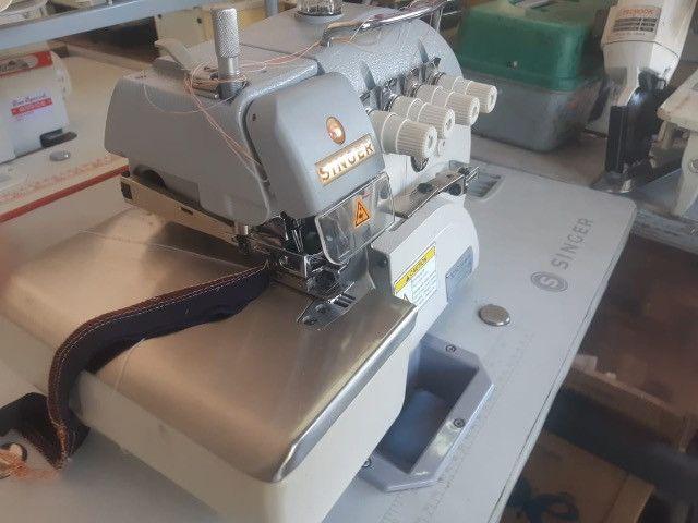 Máquina de Costura Overlock Industrial Singer - Foto 2