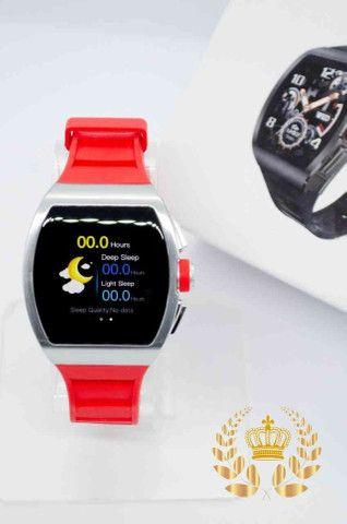 Relógio inteligente M1 Magnum Watch a prova d'água ( android e IOS)