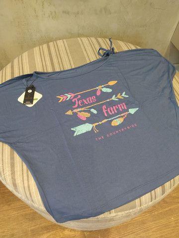 Blusa Texas Farm Feminina - Foto 6