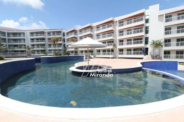 Apartamento com 3 dormitórios à venda, 87 m² por R$ 450.000,00 - Porto das Dunas - Aquiraz - Foto 5