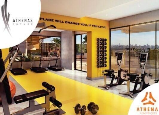 Residencial Athenas Future Living/ Apartamento 67,39m2/ 2 quartos (sendo 1 suíte)/ 1 vaga - Foto 6