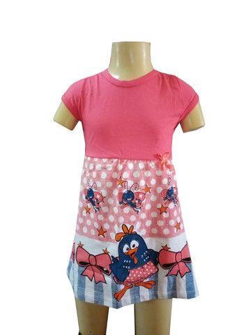 Kit 60 lindos vestidinho infantil - Foto 2