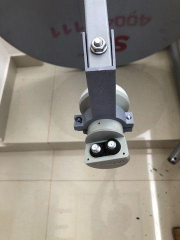 Antena SKY com LNB duplo - Foto 4