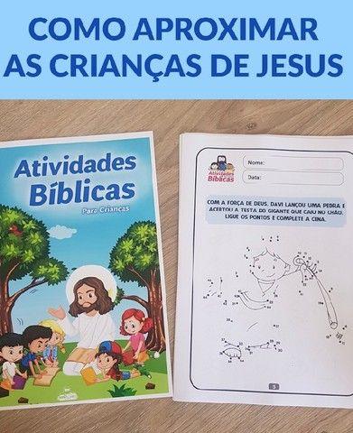 Atividades Bíblicas Infantis  - Foto 3