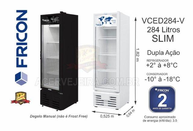 Freezer Vertical Fricon e Metalfrio - Foto 5