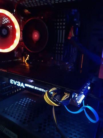 PC Gamer completo de alto desempenho - Foto 2