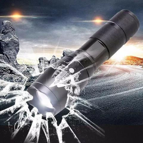 Lanterna Tatica Led super led T6 Recarregavel