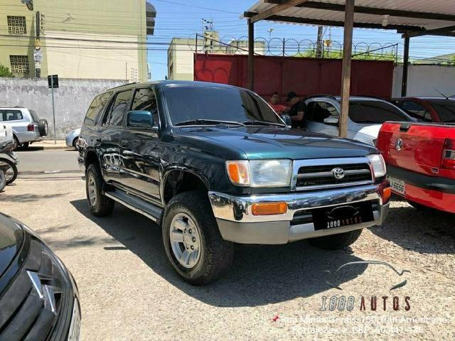 Hilux SW4 1998 7 lugares 3.0 diesel uma verdadeira RARIDADE!!! - Foto 7