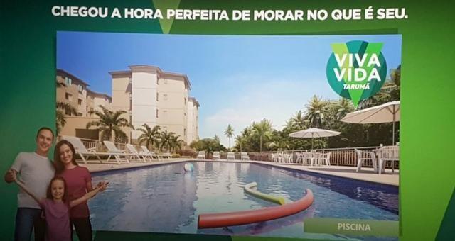 Apartamento Viva Vida Taruma 41m2 2Qtos - 128mil MCMV