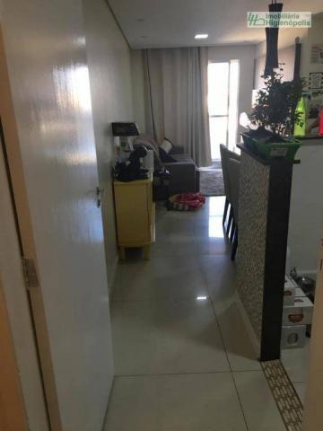 Apartamento com 3 dormitórios à venda, 60 m² por r$ 330.000 - parque bandeirante - santo a - Foto 2