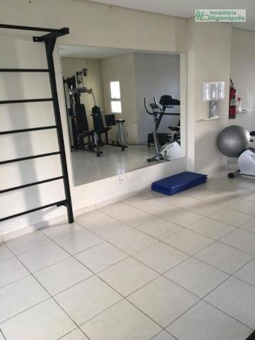 Apartamento com 3 dormitórios à venda, 60 m² por r$ 330.000 - parque bandeirante - santo a - Foto 18