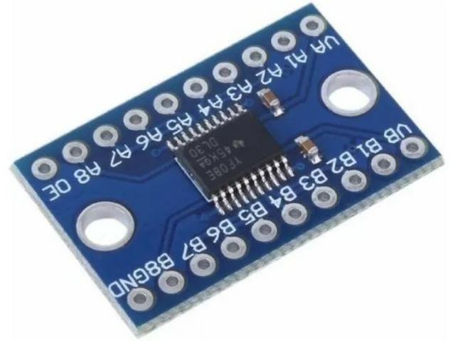 COD-AM271 Módulo Conversor De Nivel Lógico 8 Canais Txs0108e I2c Arduino Automação Rob - Foto 2
