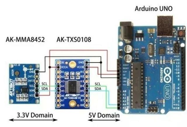 COD-AM271 Módulo Conversor De Nivel Lógico 8 Canais Txs0108e I2c Arduino Automação Rob