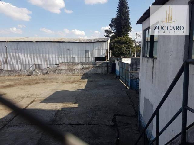Área industrial para locação, ponte grande, guarulhos - ar0149. - Foto 2
