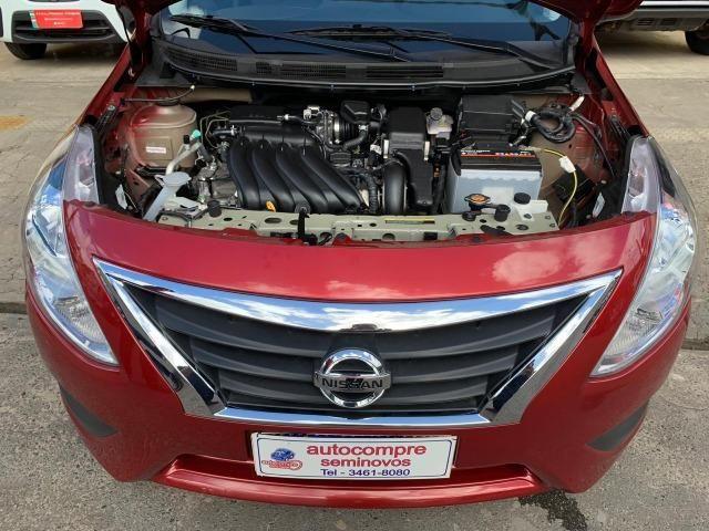 Nissan Versa SV 1.6 2018/2018 Completíssimo Financie Sem Entrada - Foto 10