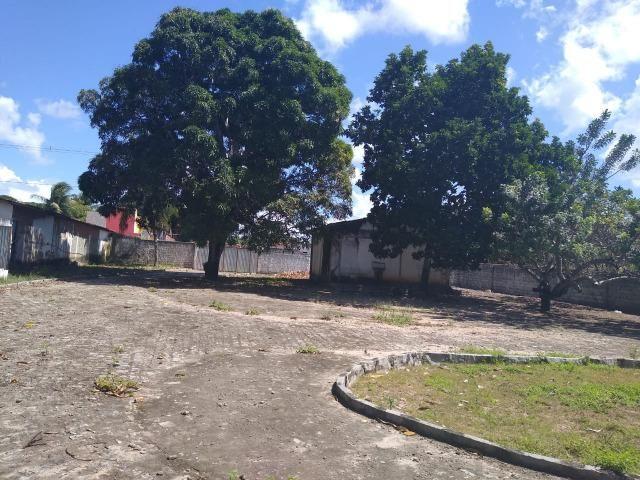 Terreno de 12.592m2 prox BR-406, RN, com casa, piscina e campos de futebol - Foto 7