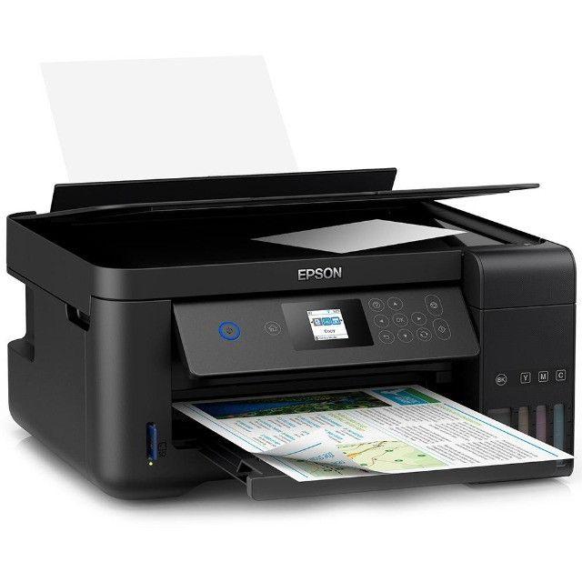 Impressora Multifuncional Epson L4160 Jato De Tinta, Colorida, Wi-Fi, Bivolt C11Cg23302 - Foto 2