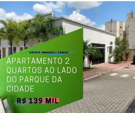 More a 5 minutos do centro. Belo apto 2 dormitórios à venda, 47 m² por R$ 139.900 - Santan