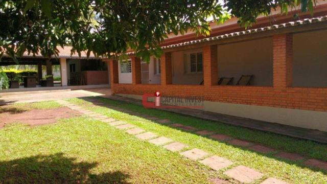 Chácara com 3 dormitórios para alugar, 2600 m² por R$ 5.500,00/mês - Jardim Roseira de Cim