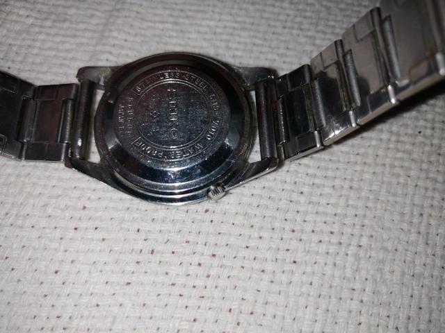 Relógio de Pulso Seiko 5 Raro 6119-7010 - Foto 4