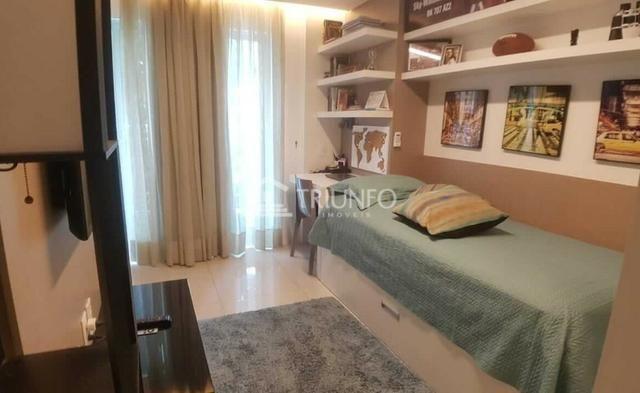 (ELI46095) Apartamento Duplex no Cocó 165m², 3 Suites, Todo Projetado, 3 Vagas - Foto 6