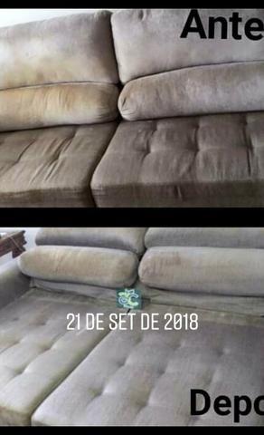 Limpeza de sofás e Outros - Foto 2