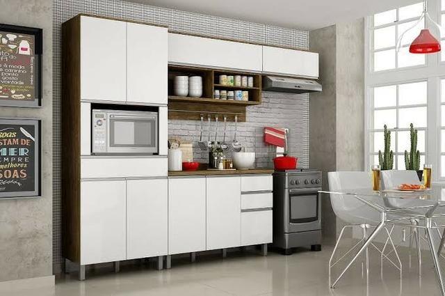 Cozinha Turquesa Completa (2.80 de largura)(TM)