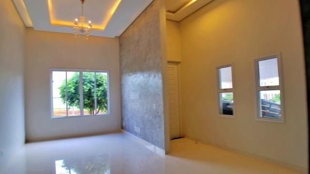 Casa 3 Suítes + Escritório, 183 m² c/ lazer no Condomínio Mirante do Lago - Foto 2