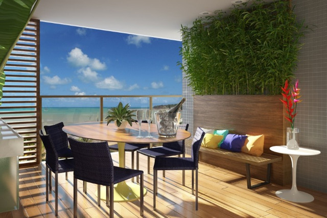 Apartamentos beira-mar do Cabo Branco - Foto 6