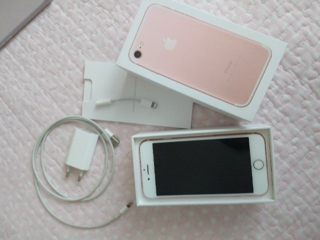 IPhone 7 ouro Rose 32gb - Foto 4