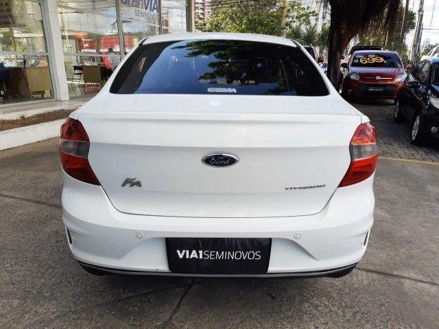 Ka Sedan Titanium 1.5 Aut. - 2019 - Novíssimo, Revisado e C/ Garantia - Foto 6