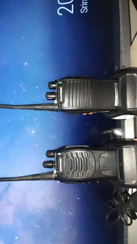 Rádio comunicador Walk talk baofeng Bf- 777s Alcance 12km + Fone