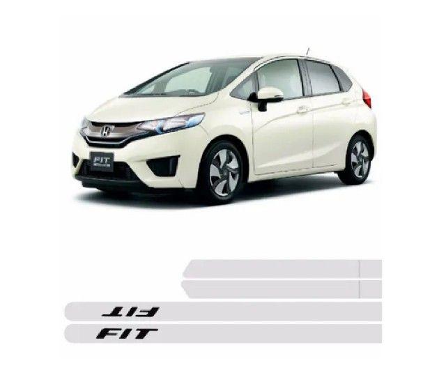 Frisos Honda Fit (Branco)