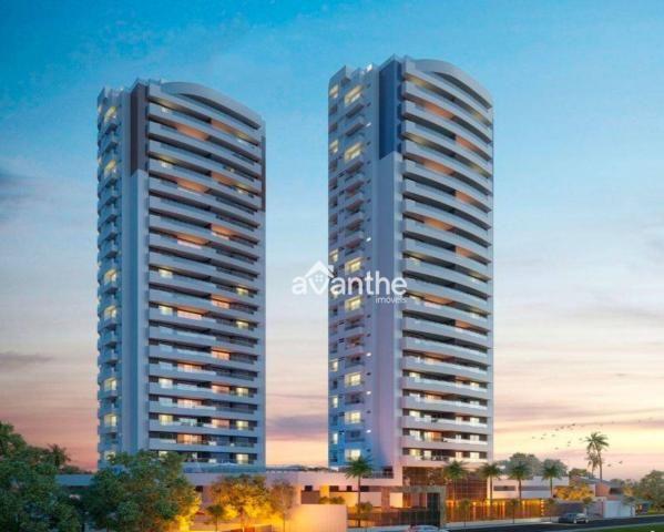 Apartamento com 3 dormitórios à venda, 142 m² por R$ 1.019.000 - São Cristóvão Zona Leste