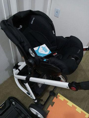 Carrinho de Bebê Mobi Black & White - Safety 1st<br> - Foto 3