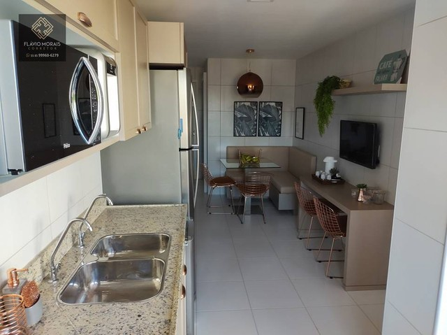 Apartamento  119 metros com 3 quartos em Papicu - Fortaleza - CE - Foto 5