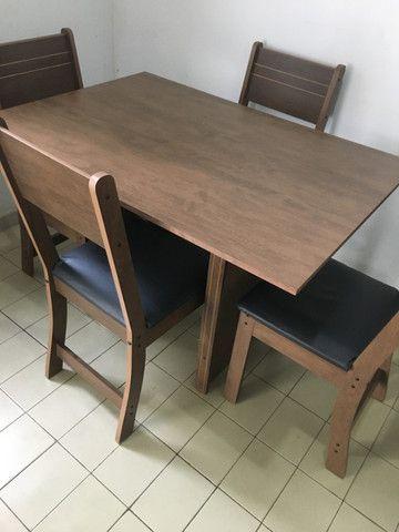 Mesa com 4 cadeiras - Foto 2