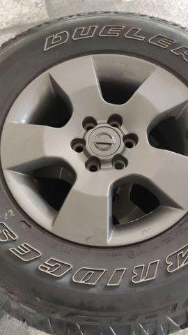 Jogo de rodas com pneus  - Foto 3