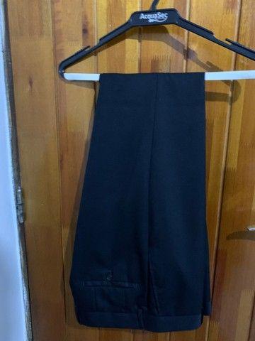 terno e calça social usados apenas 2 vezes - Foto 3
