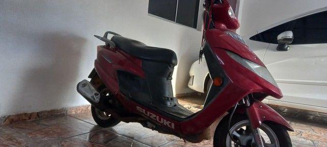 Suzuki Burgman 125cc 2008 por R$ 3.500 - Foto 3