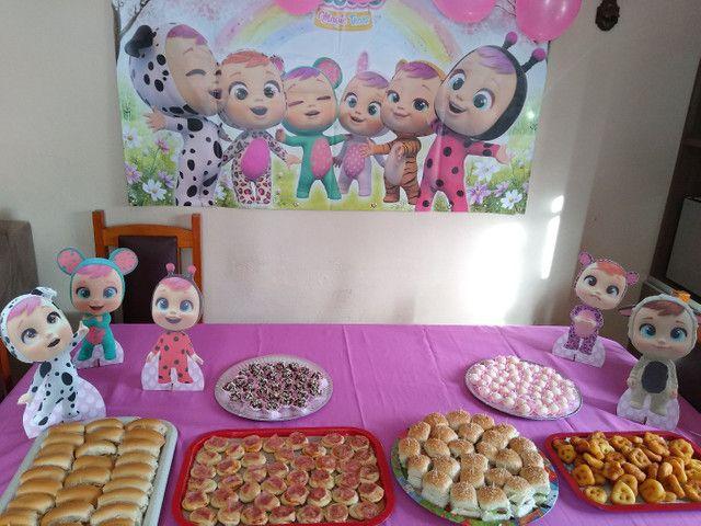 Kit decoração de aniversário Cry Babies - Foto 3