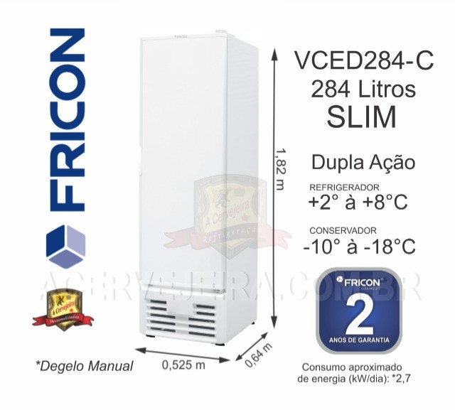 Freezer Vertical Fricon e Metalfrio - Foto 6