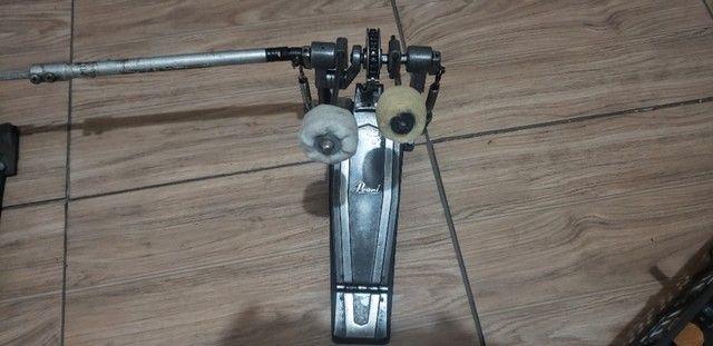 Pedal Dublo Pearl Alta Performace - Foto 3